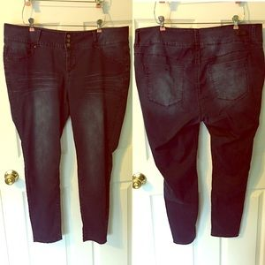 Royalty for Me Jegging Plus Size 20W Jean Blue